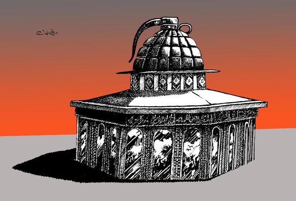 ali ferzat - علي فرزات-  كاريكاتير - فلسطين - 37