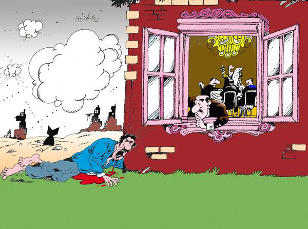 ali ferzat - علي فرزات-  كاريكاتير - صحافة واعلام - 40