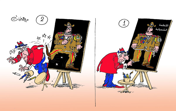 ali ferzat - علي فرزات-  كاريكاتير - دكتاتورية - 42