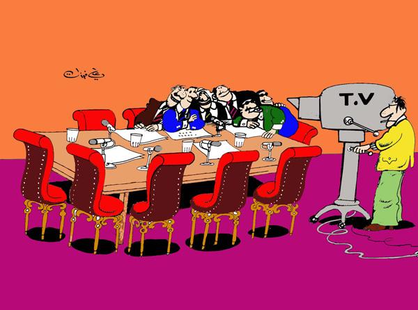 ali ferzat - علي فرزات-  كاريكاتير - رؤساء - 48