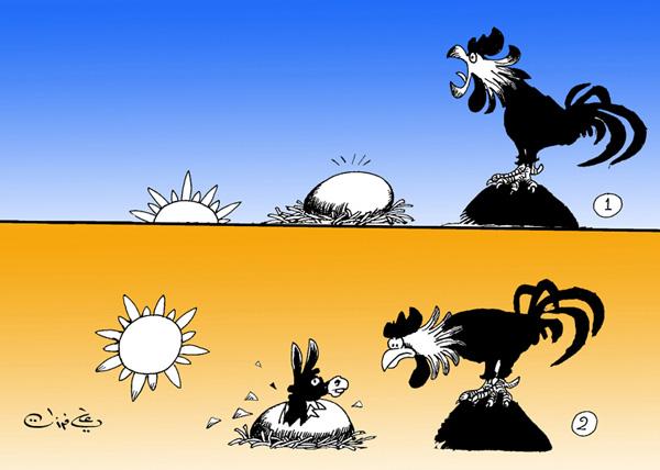 ali ferzat - علي فرزات-  كاريكاتير - حرية - 50