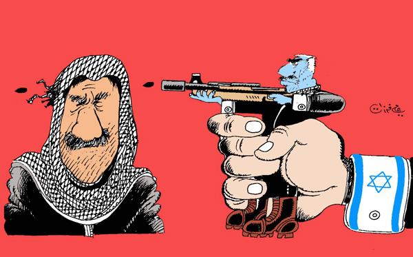 ali ferzat - علي فرزات-  كاريكاتير - فلسطين - 66