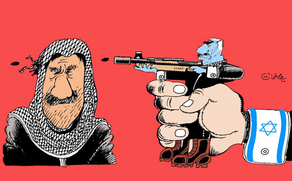 ali ferzat - علي فرزات-  كاريكاتير - اسرائيل - 66