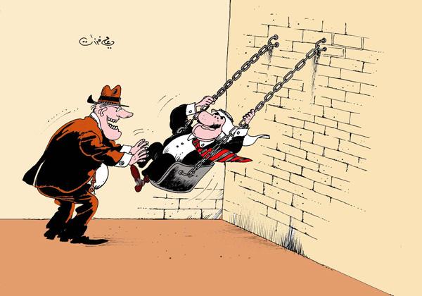 ali ferzat - علي فرزات-  كاريكاتير - العالم الثالث - 68