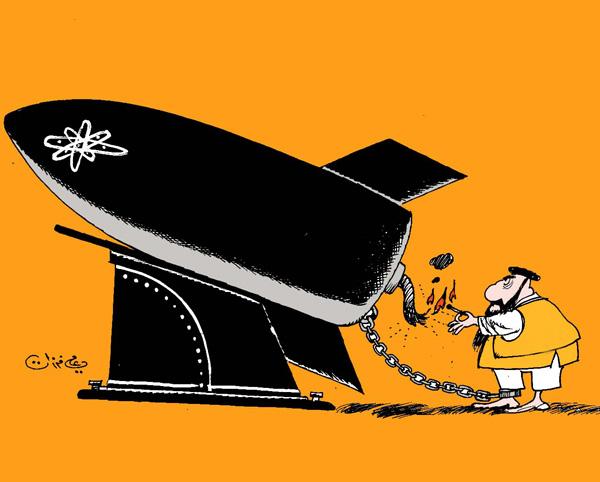 ali ferzat - علي فرزات-  كاريكاتير - ديننجي - 72