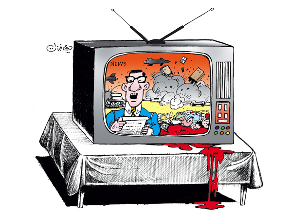 ali ferzat - علي فرزات-  كاريكاتير - صحافة واعلام - 80