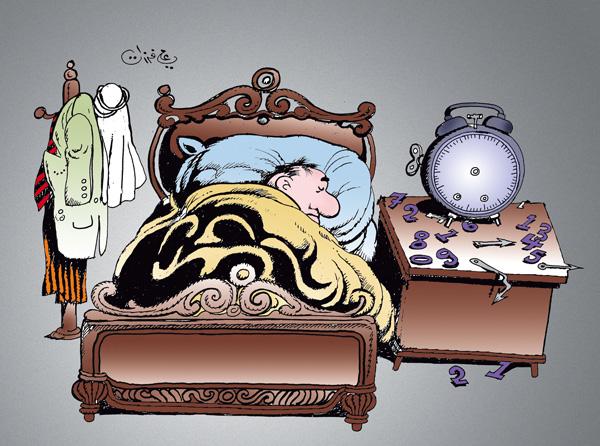 ali ferzat - علي فرزات-  كاريكاتير - مواطن - 85