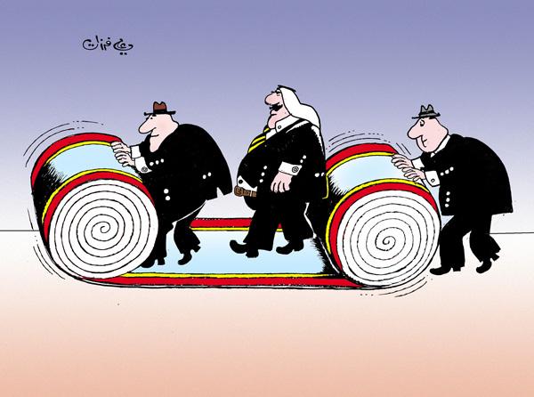 ali ferzat - علي فرزات-  كاريكاتير - رؤساء - 86