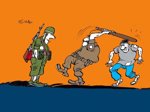 ali ferzat - علي فرزات-  كاريكاتير - فقراء - 101