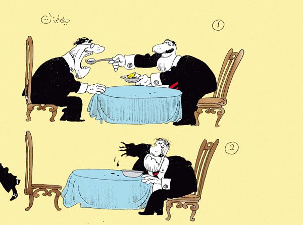 ali ferzat - علي فرزات-  كاريكاتير - ارهاب - 108