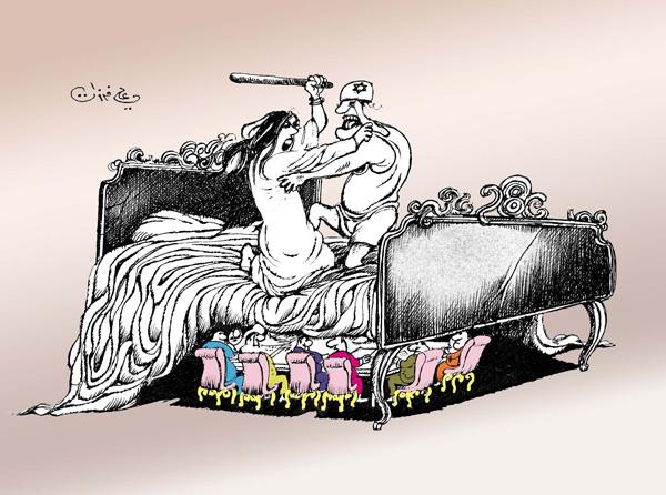 ali ferzat - علي فرزات-  كاريكاتير - فلسطين - 132