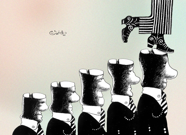ali ferzat - علي فرزات-  كاريكاتير - دكتاتورية - 133