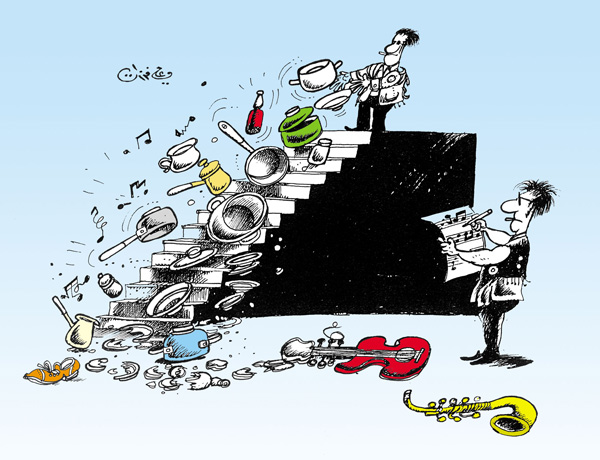 ali ferzat - علي فرزات-  كاريكاتير - فن - 142
