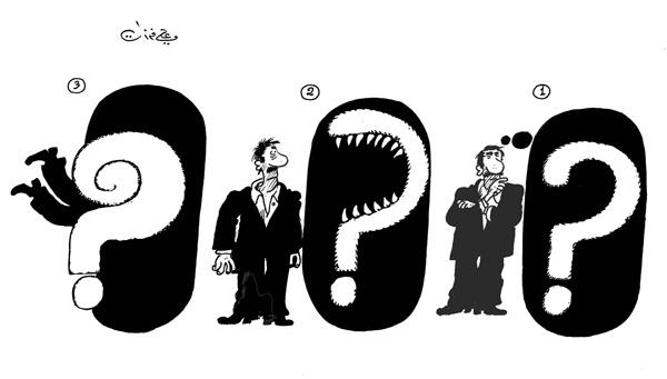 ali ferzat - علي فرزات-  كاريكاتير - سلطة ومواطن - 155