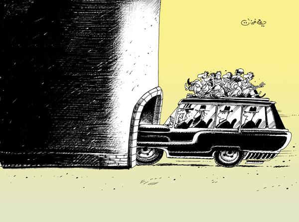 ali ferzat - علي فرزات-  كاريكاتير - العالم الثالث - 161