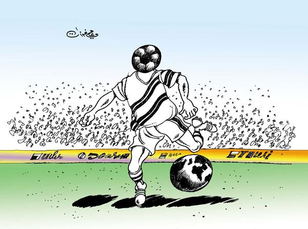 ali ferzat - علي فرزات-  كاريكاتير - رياضة - 162