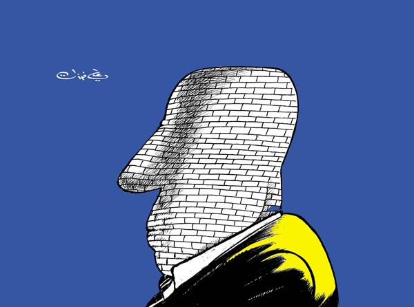 ali ferzat - علي فرزات-  كاريكاتير - سلطة - 167