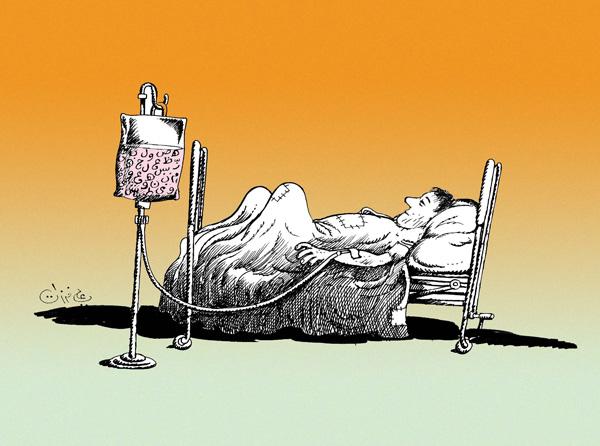 ali ferzat - علي فرزات-  كاريكاتير - سلطة ومواطن - 168