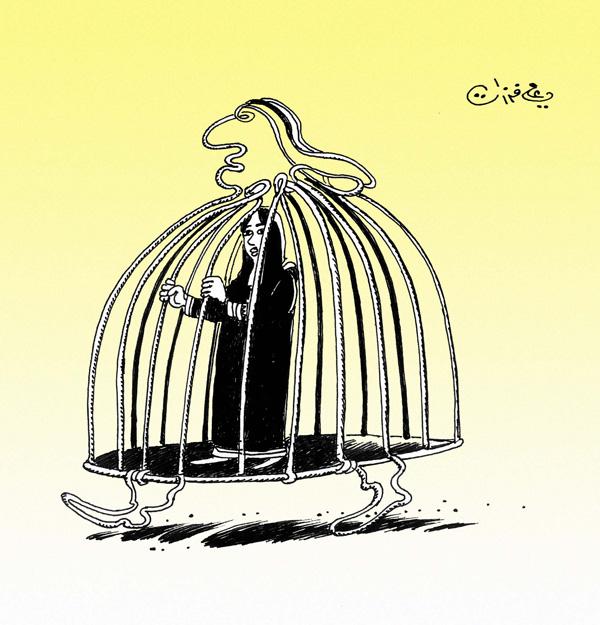 ali ferzat - علي فرزات-  كاريكاتير - حرية - 171