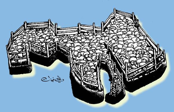ali ferzat - علي فرزات-  كاريكاتير - عرب - 172