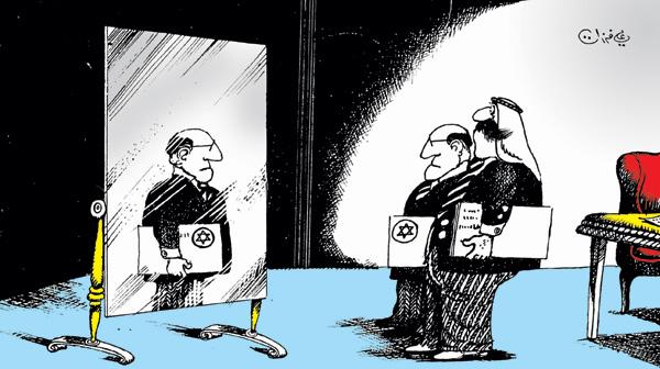 ali ferzat - علي فرزات-  كاريكاتير - اسرائيل - 174
