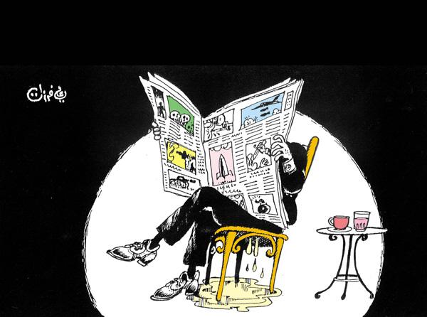 ali ferzat - علي فرزات-  كاريكاتير - صحافة واعلام - 188