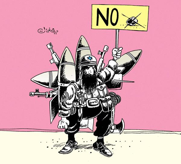 ali ferzat - علي فرزات-  كاريكاتير - انتفاضة - 190