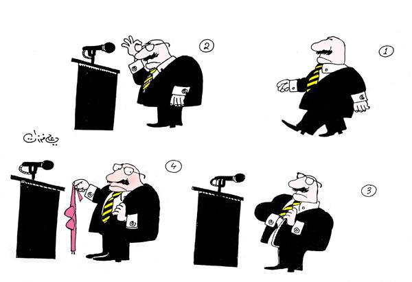 ali ferzat - علي فرزات-  كاريكاتير - جنس - 194