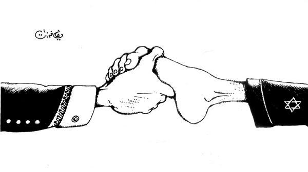 ali ferzat - علي فرزات-  كاريكاتير - اسرائيل - 204