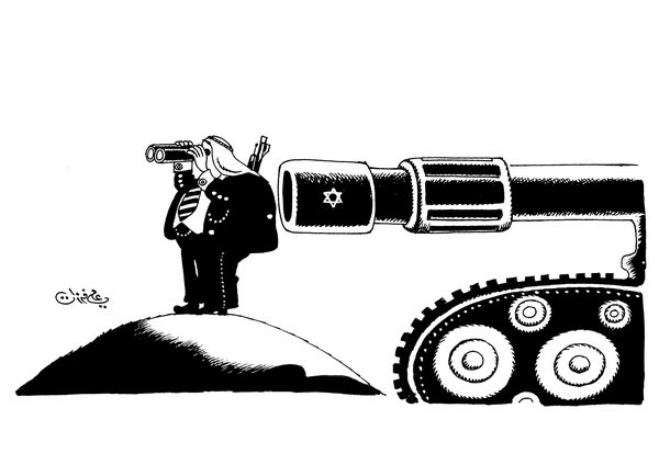 ali ferzat - علي فرزات-  كاريكاتير - حرب - 206