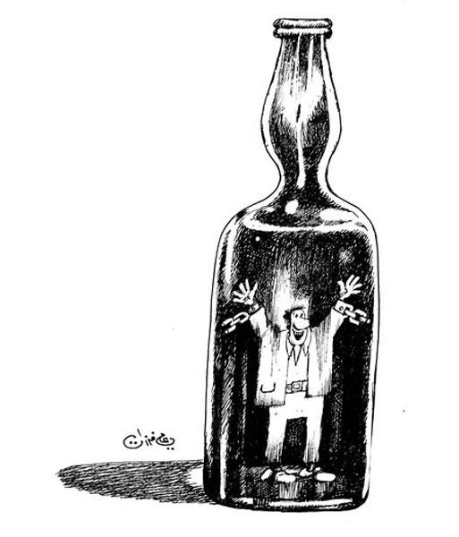 ali ferzat - علي فرزات-  كاريكاتير - حرية - 219