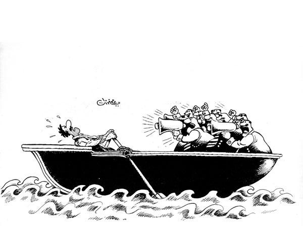 ali ferzat - علي فرزات-  كاريكاتير - العالم الثالث - 227