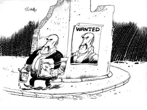 ali ferzat - علي فرزات-  كاريكاتير - ارهاب - 234