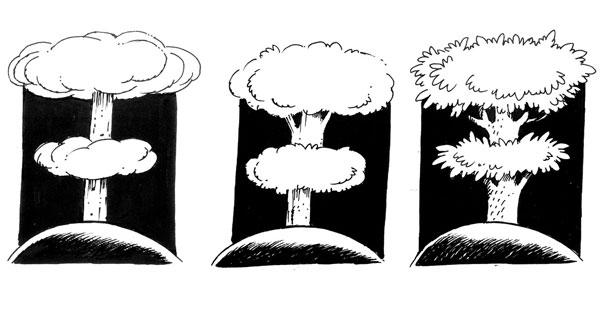 ali ferzat - علي فرزات-  كاريكاتير - بيئة - 235