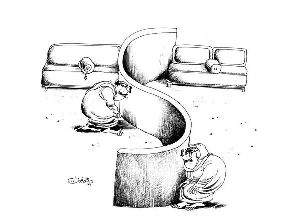 ali ferzat - علي فرزات-  كاريكاتير - 243