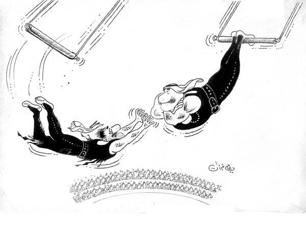 ali ferzat - علي فرزات-  كاريكاتير - احزاب سلطة - 244