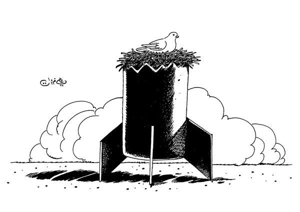 ali ferzat - علي فرزات-  كاريكاتير - ارهاب - 251