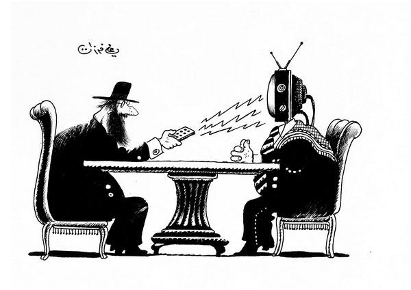 ali ferzat - علي فرزات-  كاريكاتير - اسرائيل - 252