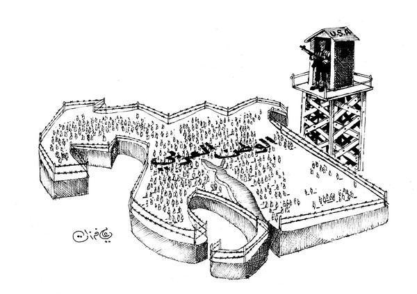 ali ferzat - علي فرزات-  كاريكاتير - 254
