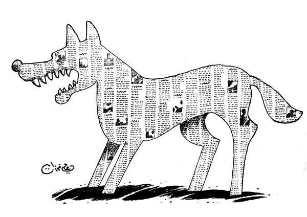 ali ferzat - علي فرزات-  كاريكاتير - احزاب سلطة - 255
