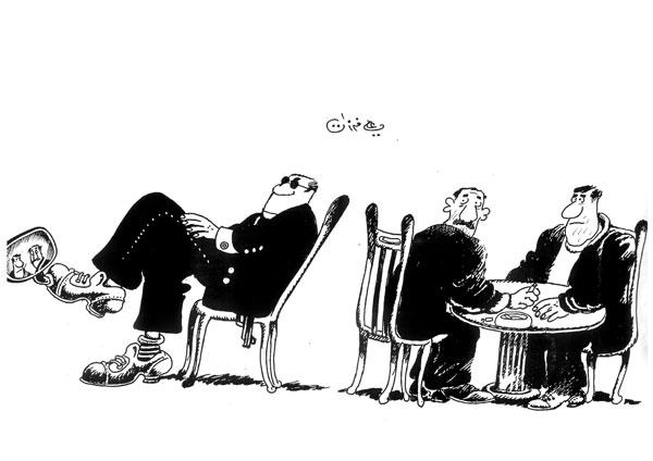 ali ferzat - علي فرزات-  كاريكاتير - العالم الثالث - 266
