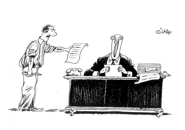 ali ferzat - علي فرزات-  كاريكاتير - 267