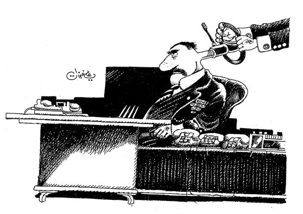 ali ferzat - علي فرزات-  كاريكاتير - مافيات - 273