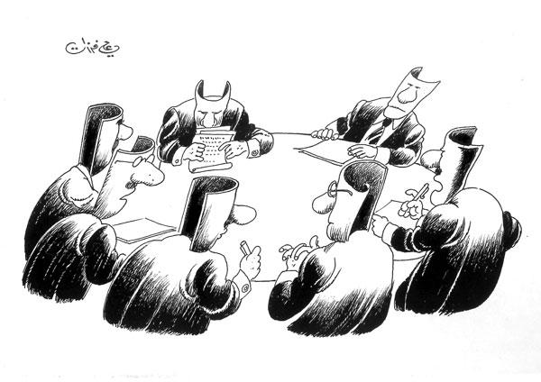 ali ferzat - علي فرزات-  كاريكاتير - 284