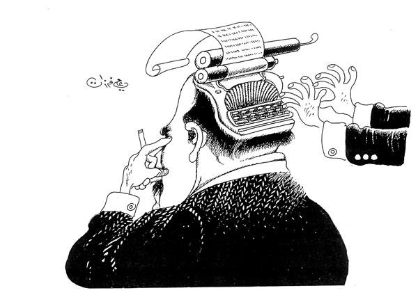 ali ferzat - علي فرزات-  كاريكاتير - احزاب سلطة - 286