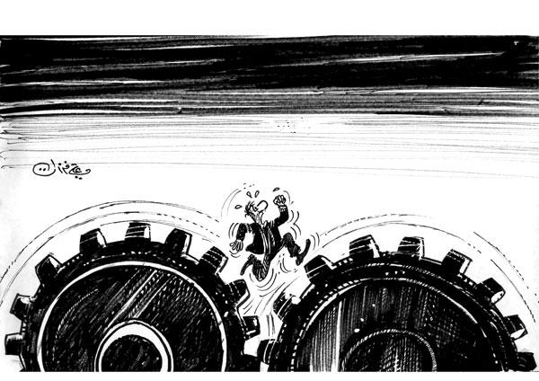 ali ferzat - علي فرزات-  كاريكاتير - 297