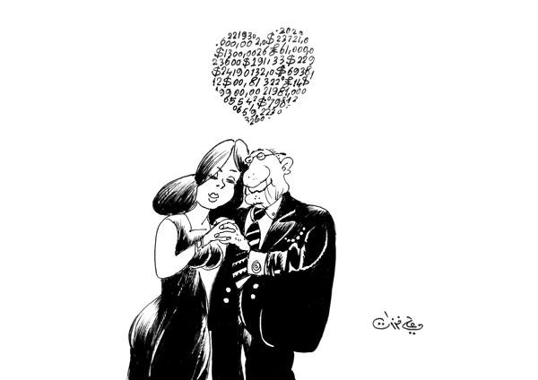 ali ferzat - علي فرزات-  كاريكاتير - مسخرة - 299