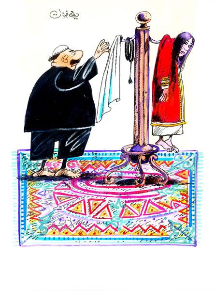 ali ferzat - علي فرزات-  كاريكاتير - 300