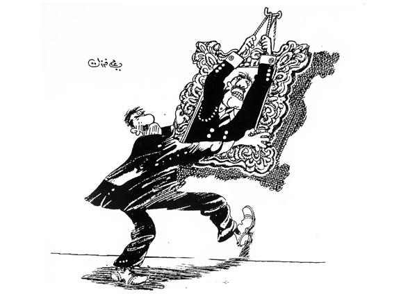 ali ferzat - علي فرزات-  كاريكاتير - حزبي - 306