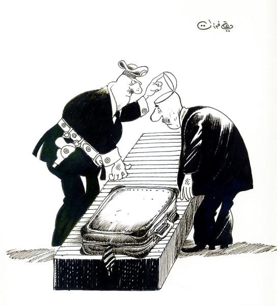 ali ferzat - علي فرزات-  كاريكاتير - 313